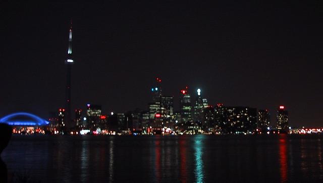 Toronto-Canada-skyline-night